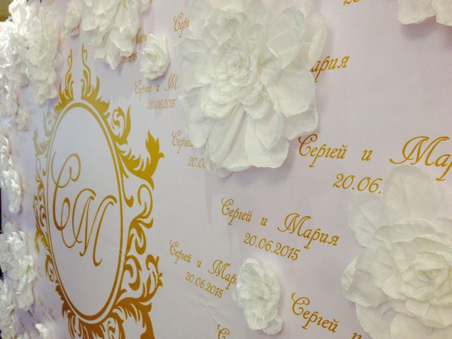 Фото 7487982 в коллекции Press wall с бумажными цветами - Студия декора Кристины Дмитриевой