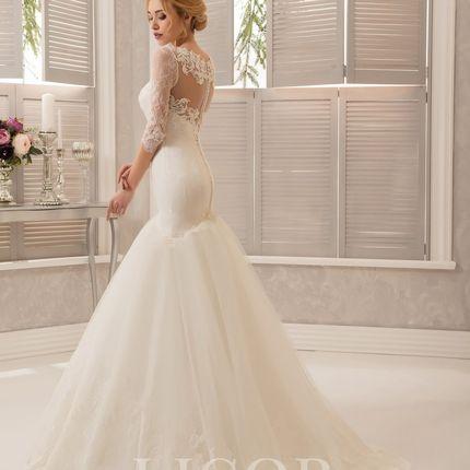 Свадебное платье Ажурная рыбка