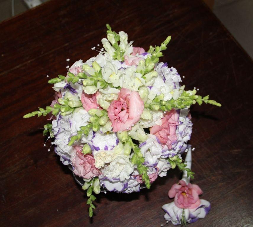 Букет невесте, свадебный букет в ростове на дону