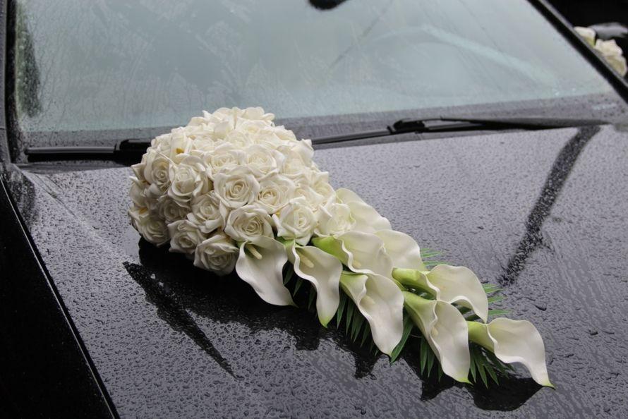 Цветов одесса, свадебные букеты на авто