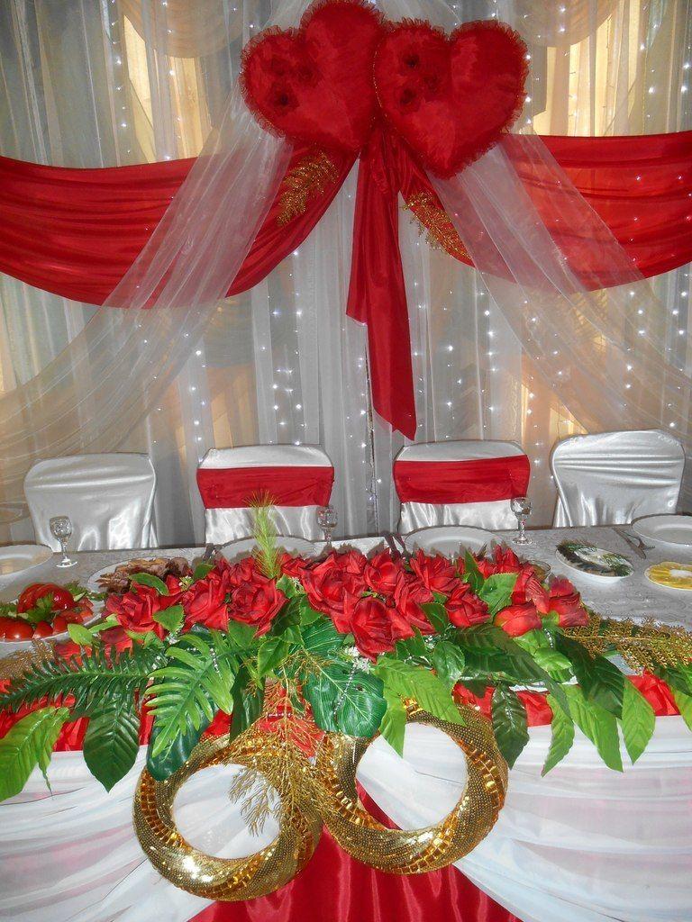 Фото 4833049 в коллекции Свадьба в красном цвете - Декорация - организация и оформление свадеб