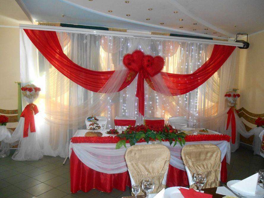 Фото 4833055 в коллекции Свадьба в красном цвете - Декорация - организация и оформление свадеб