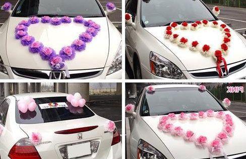 Украшение авто - фото 4833087 Декорация - организация и оформление свадеб
