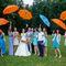 сборы невесты, персиково-голубая свадьба, идея для свадьбы, образ невесты, креативная свадьба, яркая свадьба, нежная, нежность, зонт, табличка, растяжка