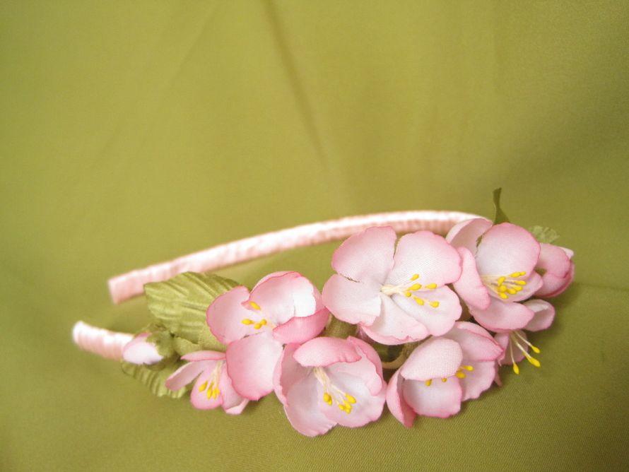 """Веночек. Яблоневый цвет. - фото 5711579 Творческая мастерская """"Фея цветов"""""""