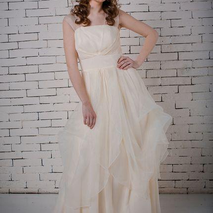 """Свадебное платье """"Нимерия"""" и фата"""