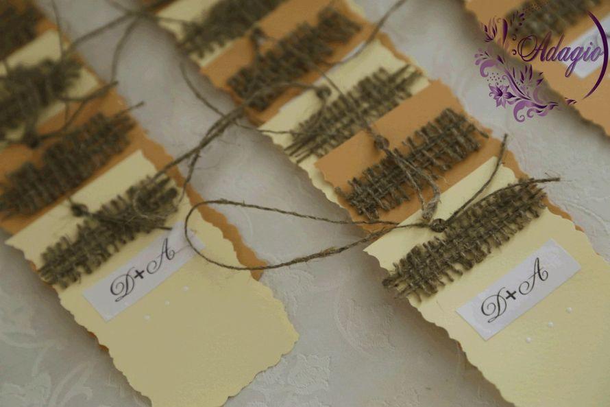 """Фото 4916519 в коллекции Свадьба в стиле rustic - """"Adagio"""" - свадебный декор"""