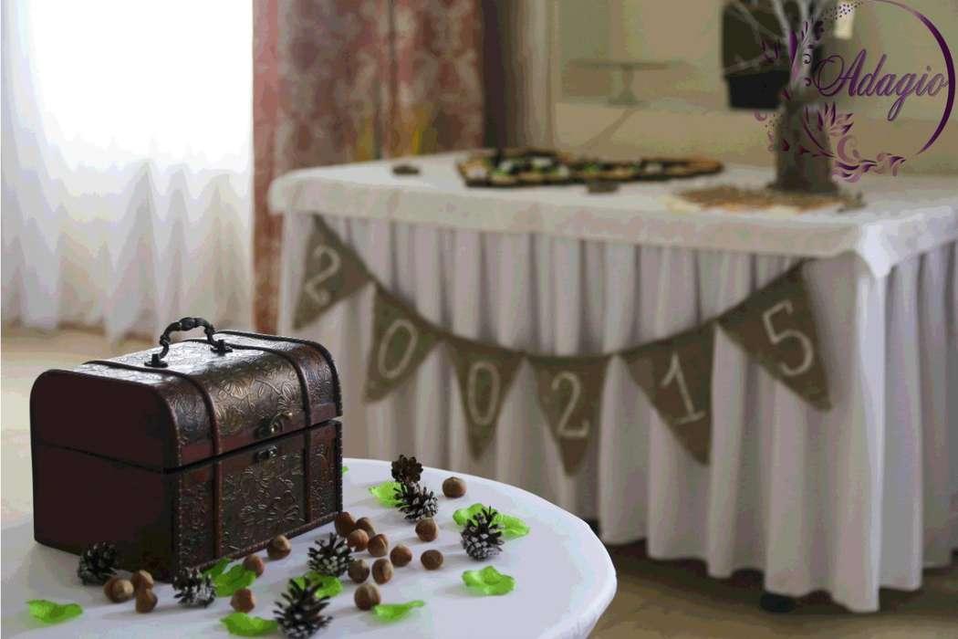 """Фото 4916523 в коллекции Свадьба в стиле rustic - """"Adagio"""" - свадебный декор"""
