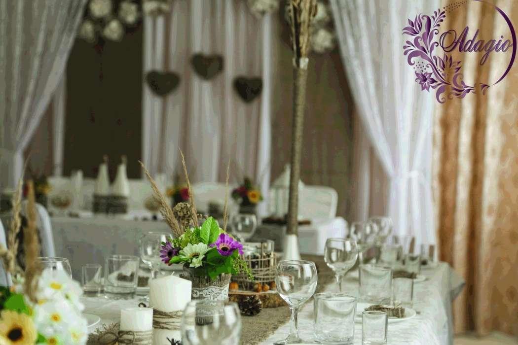 """Фото 4916551 в коллекции Свадьба в стиле rustic - """"Adagio"""" - свадебный декор"""