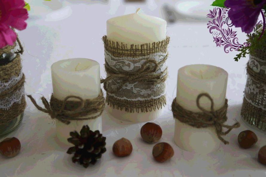 """Фото 4916557 в коллекции Свадьба в стиле rustic - """"Adagio"""" - свадебный декор"""