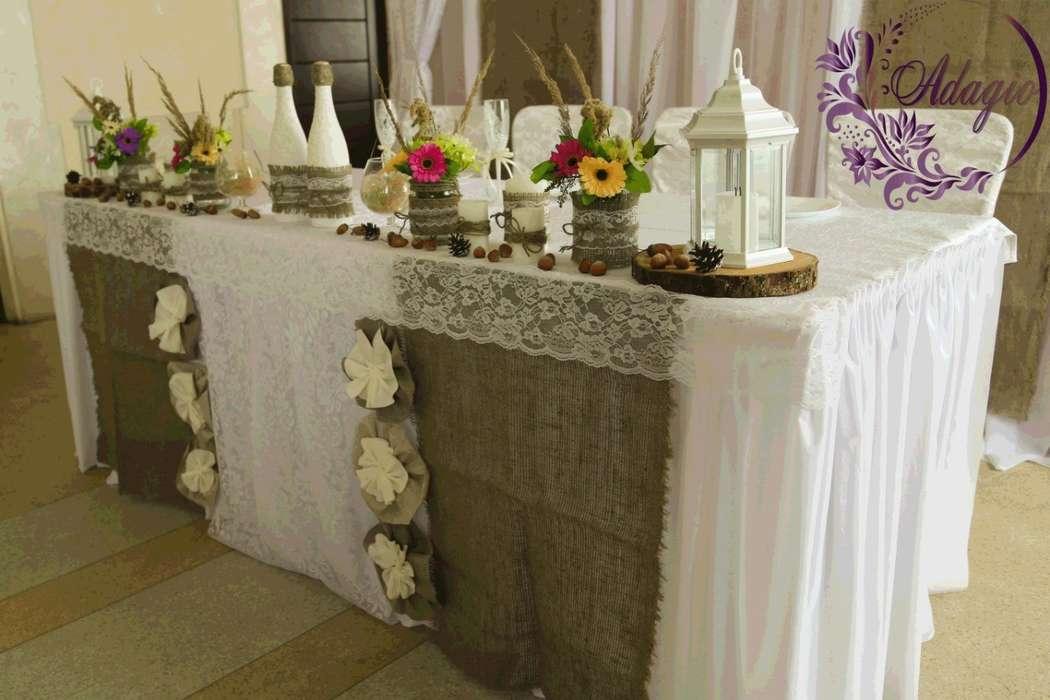 """Фото 4916559 в коллекции Свадьба в стиле rustic - """"Adagio"""" - свадебный декор"""