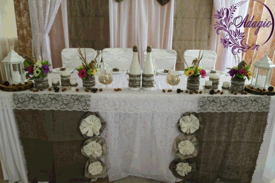 """Фото 4916575 в коллекции Свадьба в стиле rustic - """"Adagio"""" - свадебный декор"""