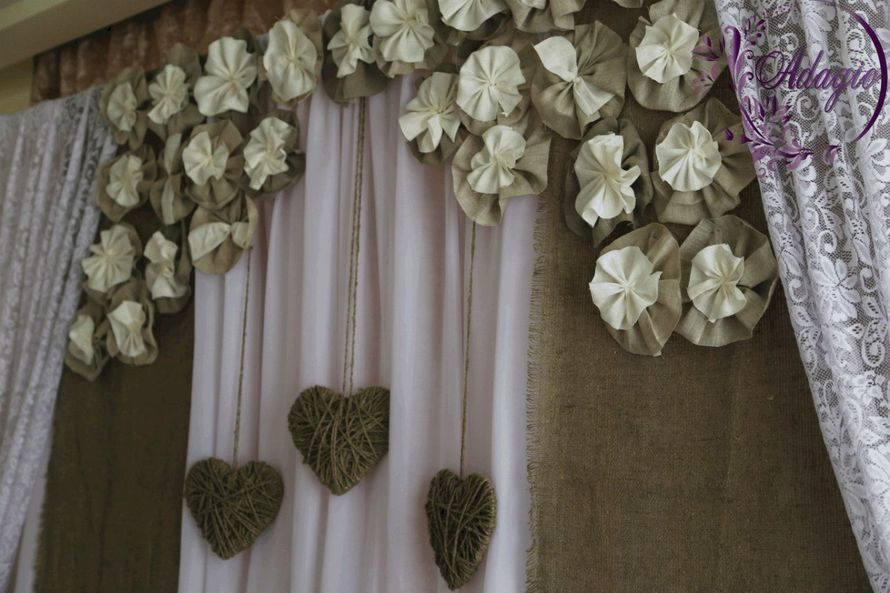 """Фото 4916577 в коллекции Свадьба в стиле rustic - """"Adagio"""" - свадебный декор"""