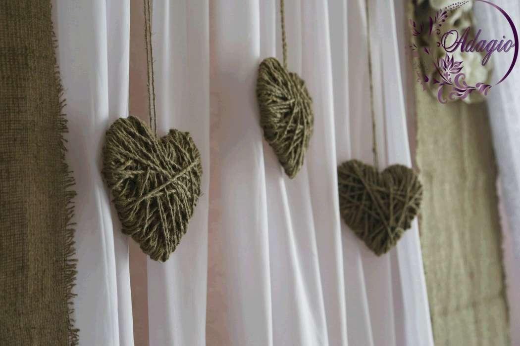 """Фото 4916579 в коллекции Свадьба в стиле rustic - """"Adagio"""" - свадебный декор"""