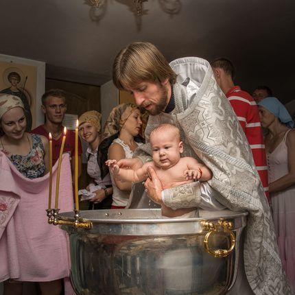 """Фотосъёмка крещения, 1 час - пакет """"Мини"""""""