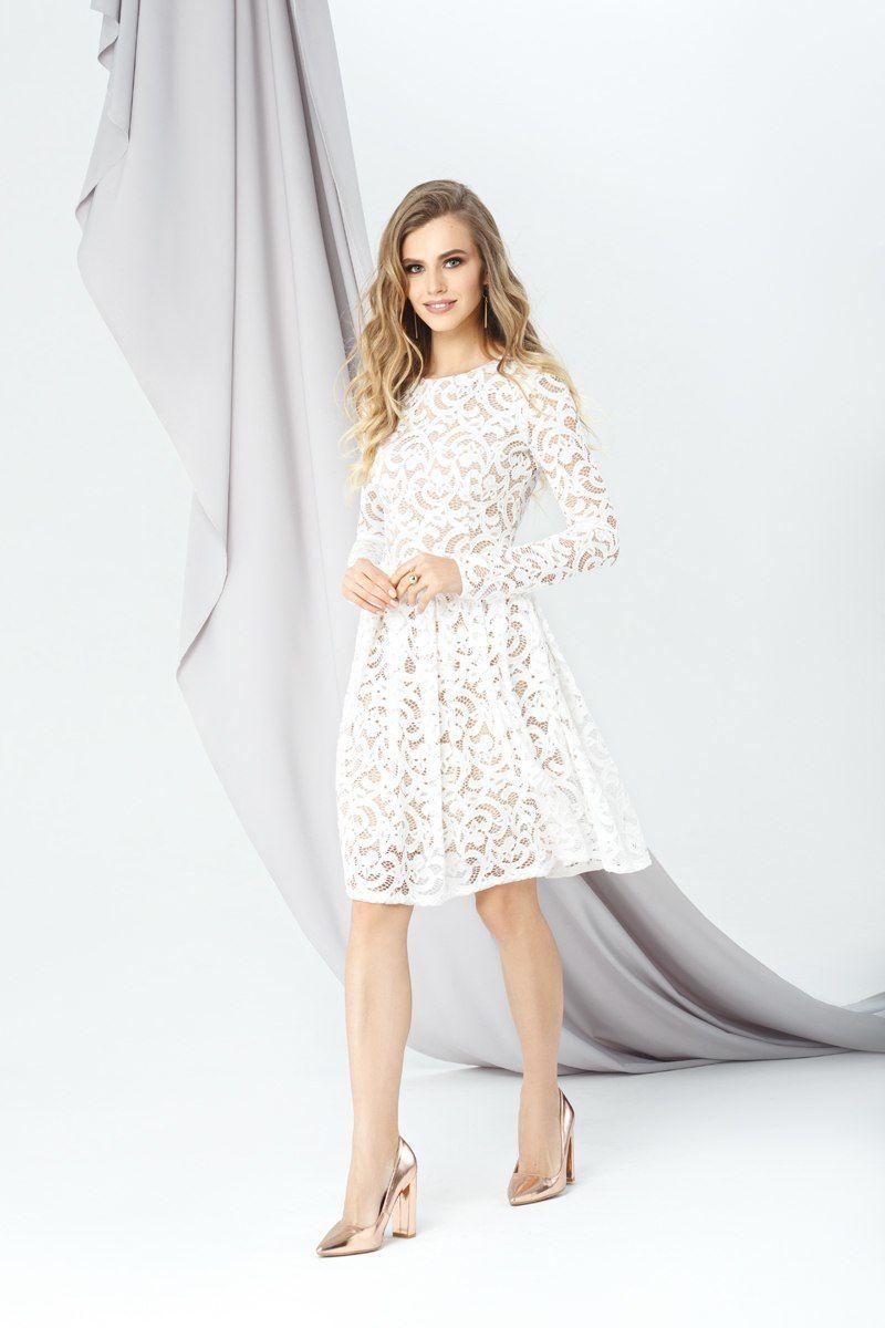 5bdd64c9533 Модель EMSE 0285 Коктейльное кружевное платье