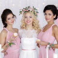 """Невеста Лена в свадебном платье """"Сладкий поцелуй"""""""