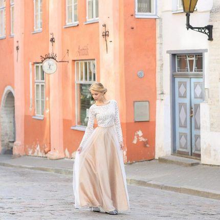 """Свадебное платье """"Мраморный оникс"""""""