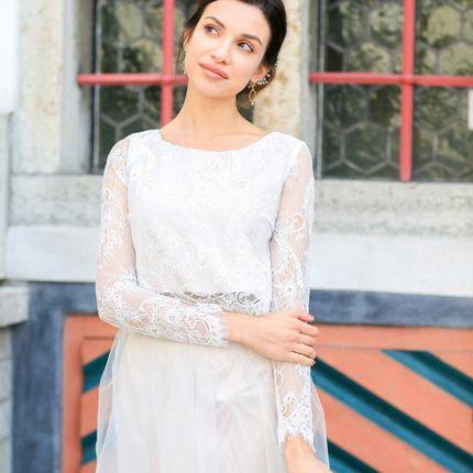 """Свадебное платье """"Дымчатый кварц"""""""