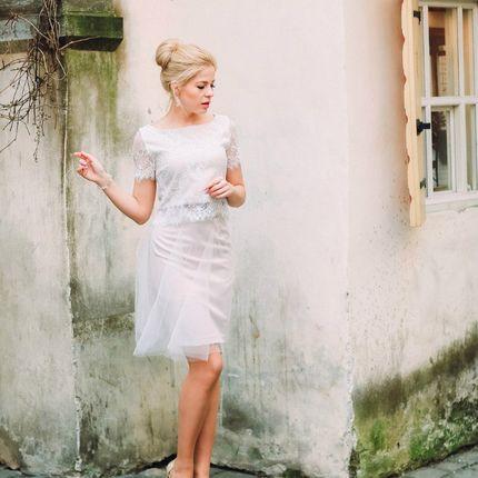 """Свадебное платье """"Перламутровая энигма"""""""