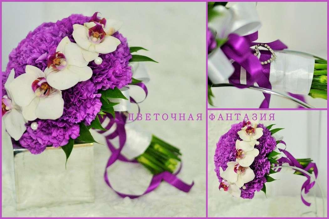 Букет для невесты Виктории. флорист Е.Стаценко. - фото 6818676 Цветочная Фантазия - Цветы и Декор