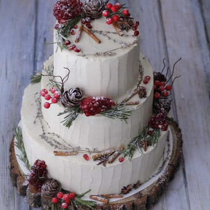 Naked Cake и торты без мастики