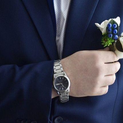 """Бутоньерка для жениха """"Зимняя свадьба"""""""