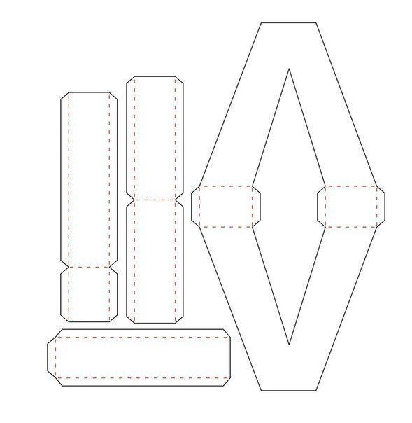 Объемные буквы из картона своими руками шаблоны