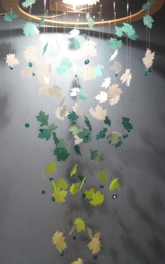 Украшения для потолка из бумаги своими руками