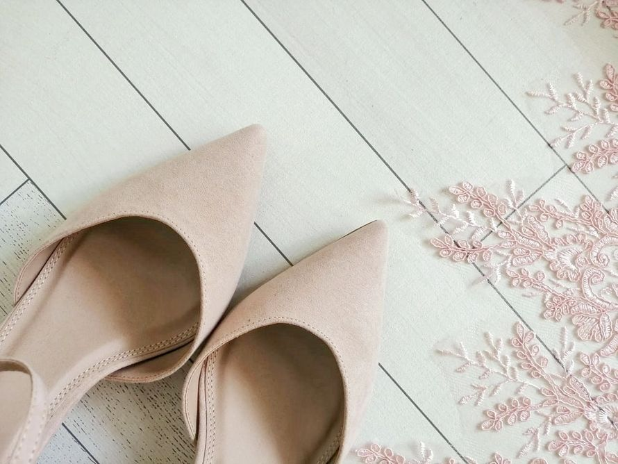 "Туфли ""Пудровая роза"""