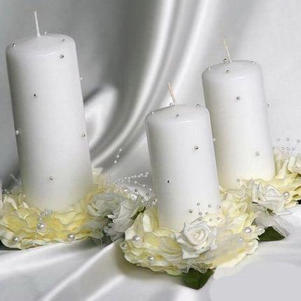 Свечи для обряда 3 шт