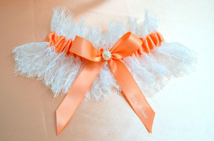 подвязка невесты с нежным кружевом. - фото 7695116 Vesta Deluxe - оформление свадеб