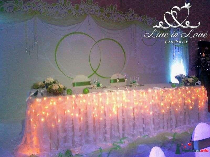 Фото 348809 в коллекции ОФОРМЛЕНИЕ ЗАЛОВ - Live in LOVE company - оформление свадеб