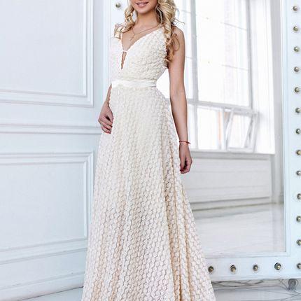 Длинное вечернее платье Тинси (FL)