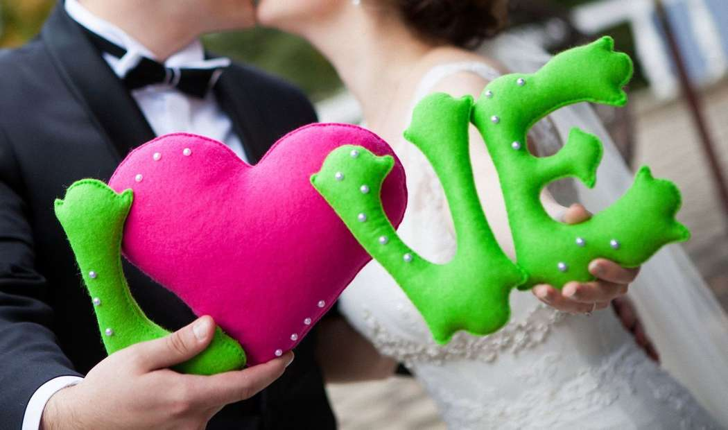 Фото 5294603 в коллекции Фетровая свадьба - Handmade by Tashaflex - аксессуары