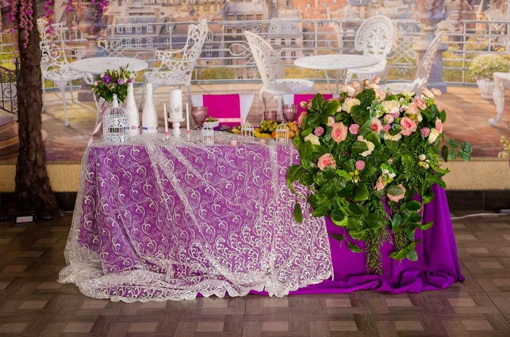 Фото 16741476 в коллекции оформление свадьбы в ресторане метрополь 25.04.2015г - Флорист Кристина Платонова