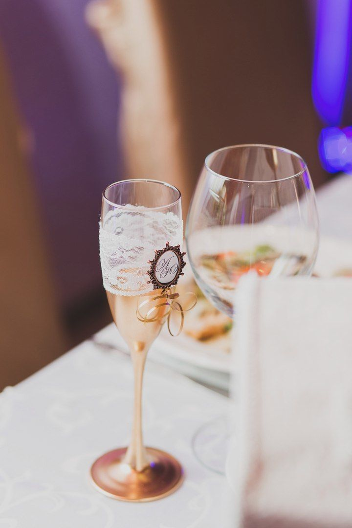 """Декор бутылок и фужеров! - фото 14277788 """"Мастерская счастья"""" - оформление праздника"""