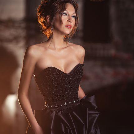 Платье ручной работы