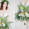 утро невесты, нежный образ невесты, свадьба для двоих, свадьба в стиле ботаник