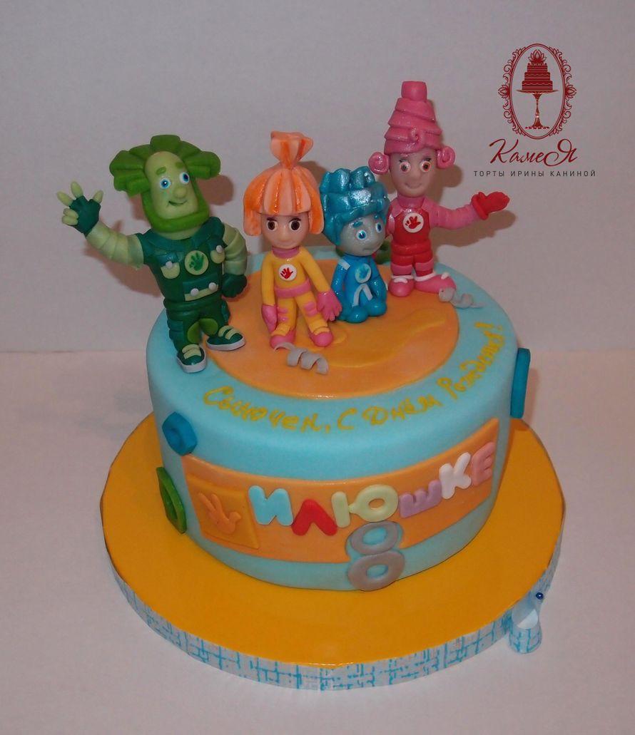 на заказ фото детский торт воронеж