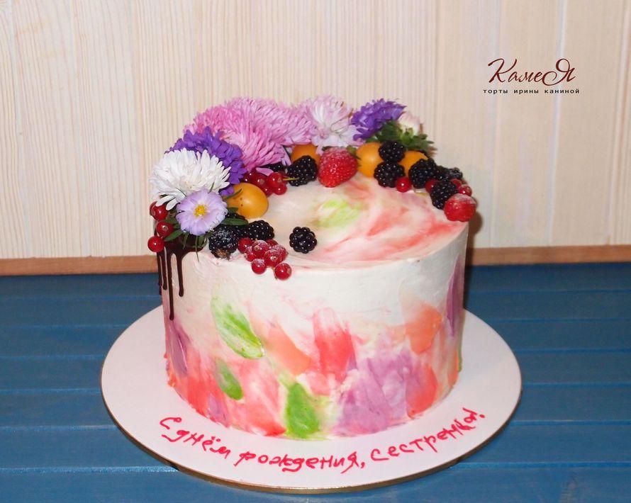 """Фото 11924792 в коллекции торты без мастики..кексы, пирожные, десерты, фигурки.. - """"Камея"""" - торты Ирины Каниной"""