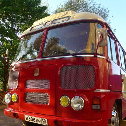 Ретро автобус Тобик - аренда