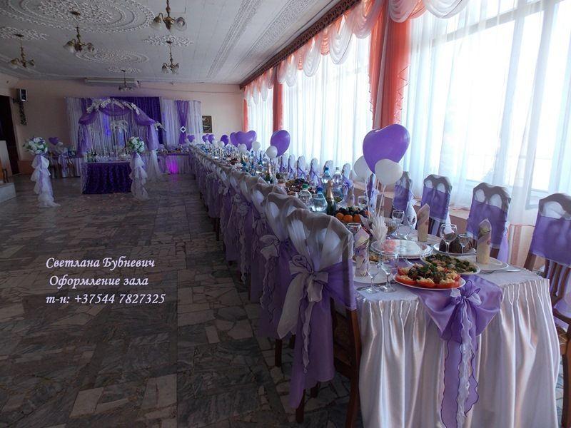 Фото 5725405 в коллекции Оформление в фиолетовом цвете - Декор-студия Светланы Бубневич