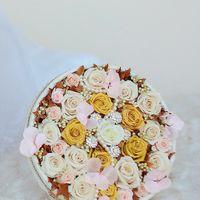 Букет невесты из стабилизированных цветов! Роскошные цветы, которые будут радовать Вас своей красотой и свежестью долгие годы...и Ваш букетик увидят и ваши детки!!!