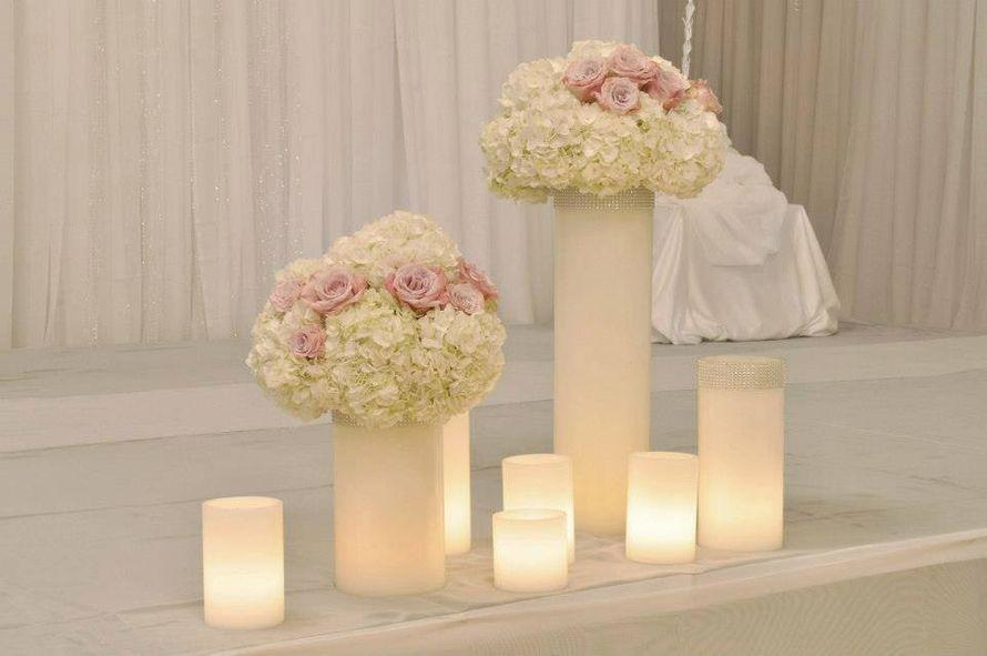 Фото 5746561 в коллекции Свечи. Примеры оформления - Smart hands studio - свадебное оформление