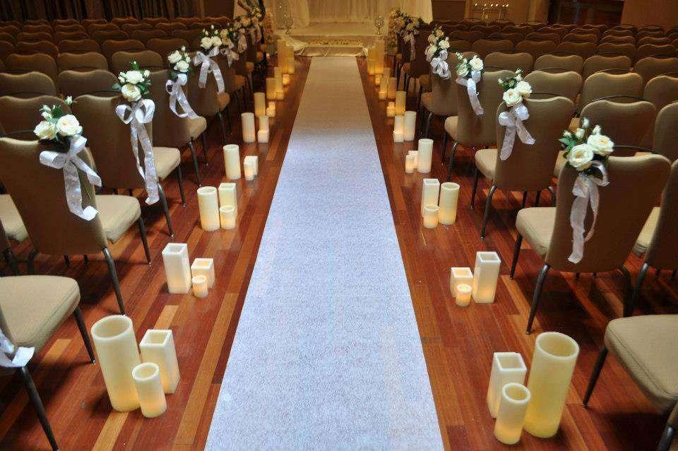 Фото 5746565 в коллекции Свечи. Примеры оформления - Smart hands studio - свадебное оформление