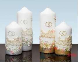 Фото 4617 в коллекции Свадебные свечи - leshechka