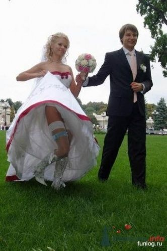 Фото 5535 в коллекции Свадебные курьезы - leshechka