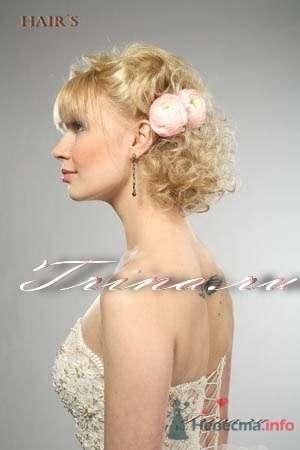 Фото 8360 в коллекции Прически с живыми цветами - leshechka
