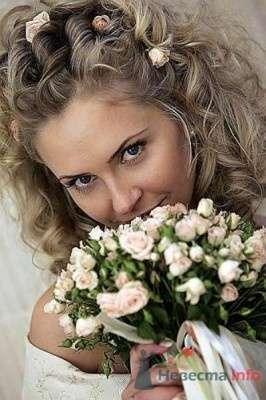 Фото 9124 в коллекции Прически с живыми цветами - leshechka